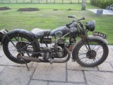 1920 FN 285cc Shaft drive motorcycle  Barn find and 1930 Velocette 249cc G22