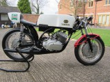 1969 Ex TT Isle of man Yamaha TR2 350 drum braked air cooled