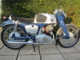 1960 Honda CB92 benly Sports 125 race kitted