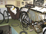 92) 1903 Coventry Eagle 2 3/4 HP with wicker Trailer